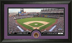 Colorado Rockies Coors Field Infield Dirt Coin Photo Mint