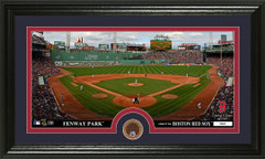 Boston Red Sox Fenway Park Infield Dirt Coin Photo Mint