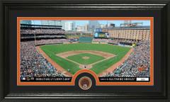 Baltimore Orioles Camden Yards Infield Dirt Coin Photo Mint