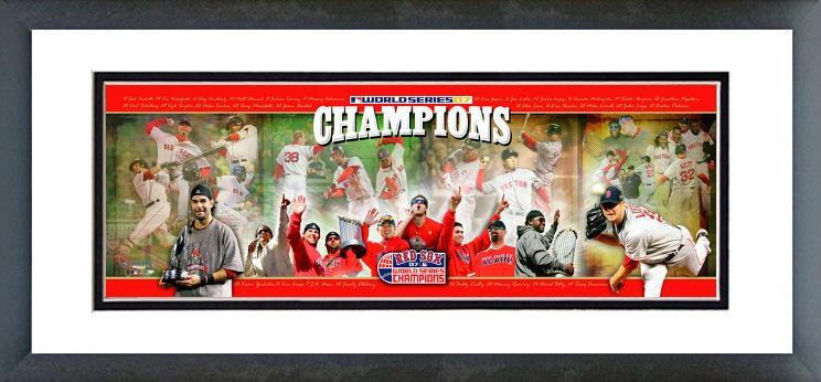 AAIZ076 2007 -  Red Sox World Series Champions Photoramic
