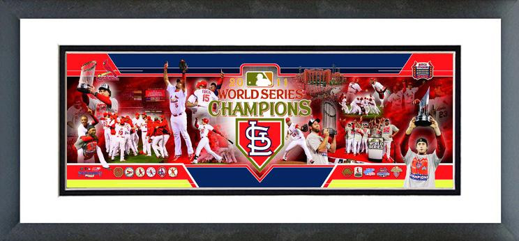 AAOF217 St. Louis Cardinals 2011 World Series Champions Photoramic