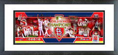 AAOF217 St. Louis Cardinals 2011 World Series Champions Photoramic