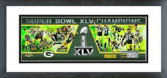 "AANE239 Green Bay Packers Super Bowl XLV Champions 12""x36"" Photoramic"