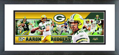 "AAOL155 Aaron Rodgers 2012 Photoramic 12""x36"""