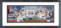 AAHX176 Super Bowl XLI Champion Colts Photoramic
