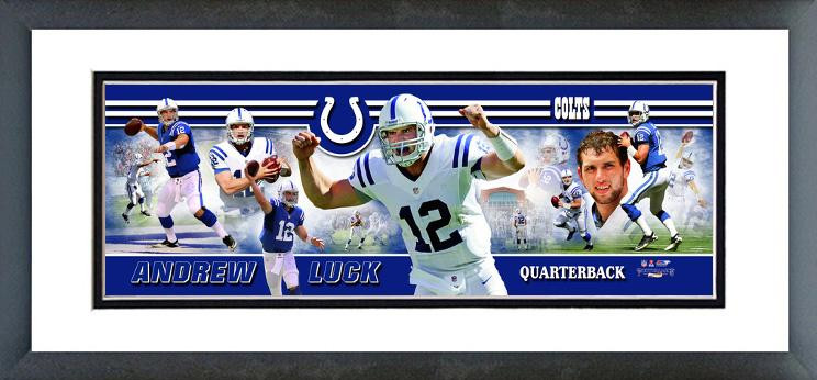 Andrew Luck 2012 Framed Picture