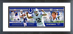 "AAPM155 Andrew Luck 2012 Photoramic - 12"" x 36"""