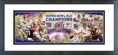 AAJI049 New York Giants Champions SuperBowl XLII Photoramic