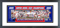 AAOM040 New York Giants Super Bowl XLVI Champions Photoramic
