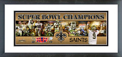 AAMB245 New Orleans Saints Super Bowl XLIV Champions Panoramic