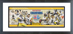 AAGU243 Super Bowl  XL -  Steelers Champions. Photoramic