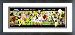 AAKW043 Pittsburgh Steelers Super Bowl XLIII Champions Photoramic