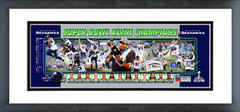 "AAQP235 Seattle Seahawks Super Bowl XLVIII Champions Photoramic - 12"" x 36"""