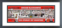 AAPZ081 Chicago Blackhawks 2013 NHL Stanley Cup Champions Photoramic