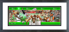 AAJY249 2007-08 Celtics NBA Finals Champions Photoramic