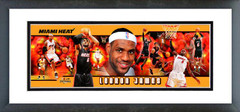 "AAMZ046 LeBron James 2010 12""x36"" Photoramic"