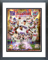 New York Giants 2007 Super Bowl XLII Champions PF Gold