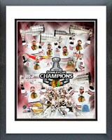 Chicago Blackhawks Stanley Cup Champions PF GOLD