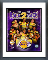 "Los Angeles Lakers ""Back-to-Back"" PF GOLD Limited Edition"