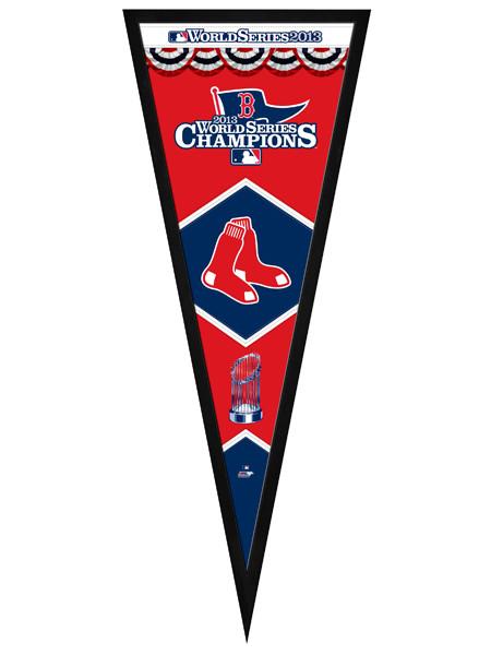 Boston Red Sox 2013 World Series Championship Pennant