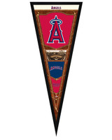 Los Angeles Angels Of Anaheim Framed Pennant