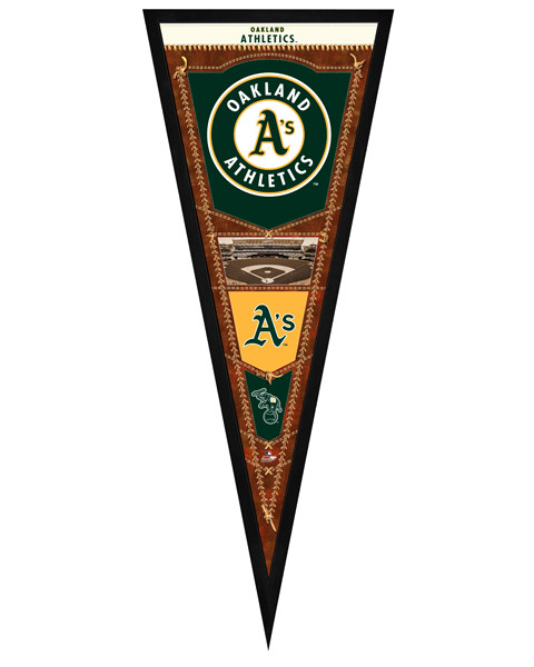 Oakland Athletics Framed Pennant