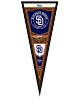 San Diego Padres Framed Pennant