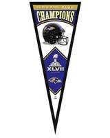 Baltimore Ravens Super Bowl XLVII Champions Framed Pennant