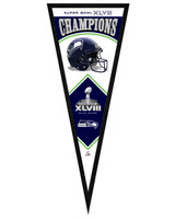 Seattle Seahawks Super Bowl XLVIII Champions Framed Pennant