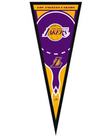 Los Angeles Lakers Framed Pennant