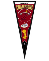 Miami Heat 2012 NBA Champions Framed Pennant