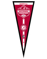 University of Alabama Crimson Tide 2012 BCS National Champions Framed Pennant
