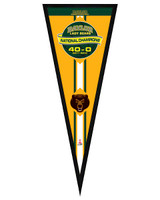 Baylor University Lady Bears 2012 NCAA Women's National Champions Framed Pennant