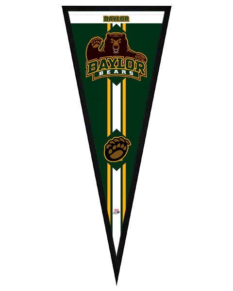Baylor University Framed Pennant Graphic