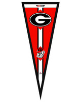 Georgia Bulldogs Framed Pennant