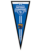 University of Kentucky Wildcats 2012 NCAA Men's National Champions Framed Pennant