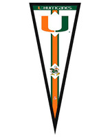 Miami Hurricanes Framed Pennant