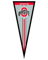 Ohio State Buckeyes Framed Pennant
