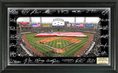 Chicago White Sox Team Signature Framed Picture