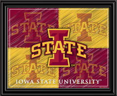 Iowa State Cyclones Block I Logo Framed Picture