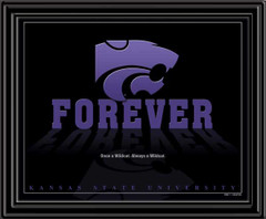 Kansas State University Forever Framed Picture