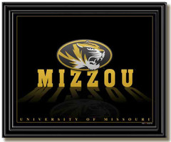 Mizzou Tigers Mascot Framed Picture