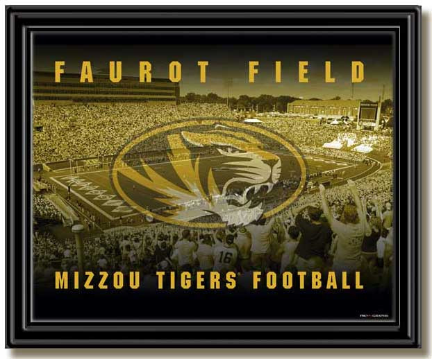 Faurot Field Mizzou Tigers Football Framed Picture