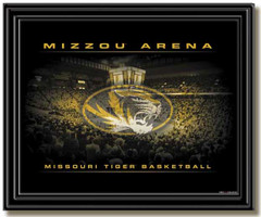 Mizzou Arena Mizzou Tigers Basketball Framed Picture