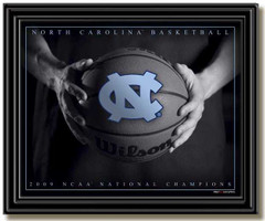 North Carolina 2009 National Championship Framed Picture