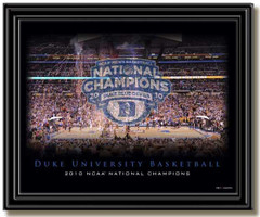 Duke 2010 NCAA National Champions Celebration Picture