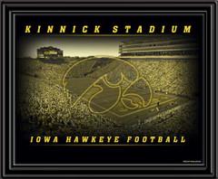 Kinnick Stadium framed picture