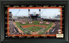San Francisco Giants 2018 Signature Field