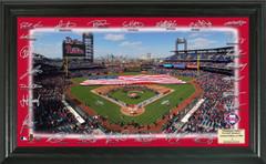 Philadelphia Phillies Team Signature Framed Picture