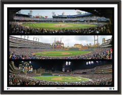 Detroit Tigers Triple Collage Framed Picture